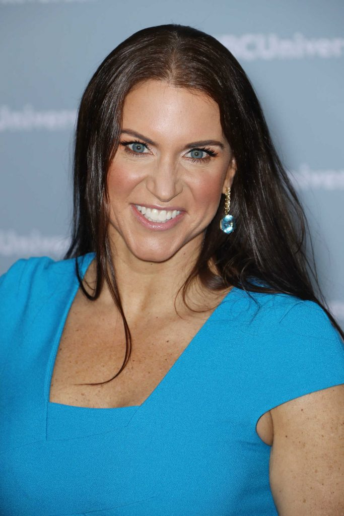 Stephanie McMahon at NBCUniversal Upfront Presentation in New York City 05/14/2018-4