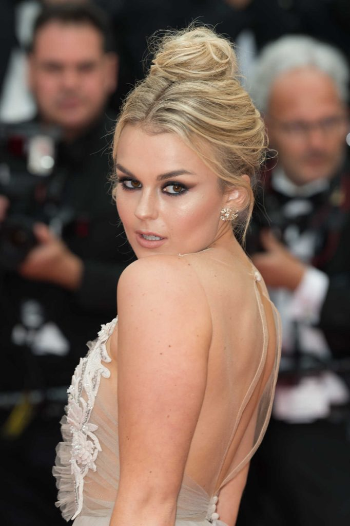 Tallia Storm at Sorry Angel Premiere During the 71st Cannes Film Festival in Cannes 05/10/2018-5