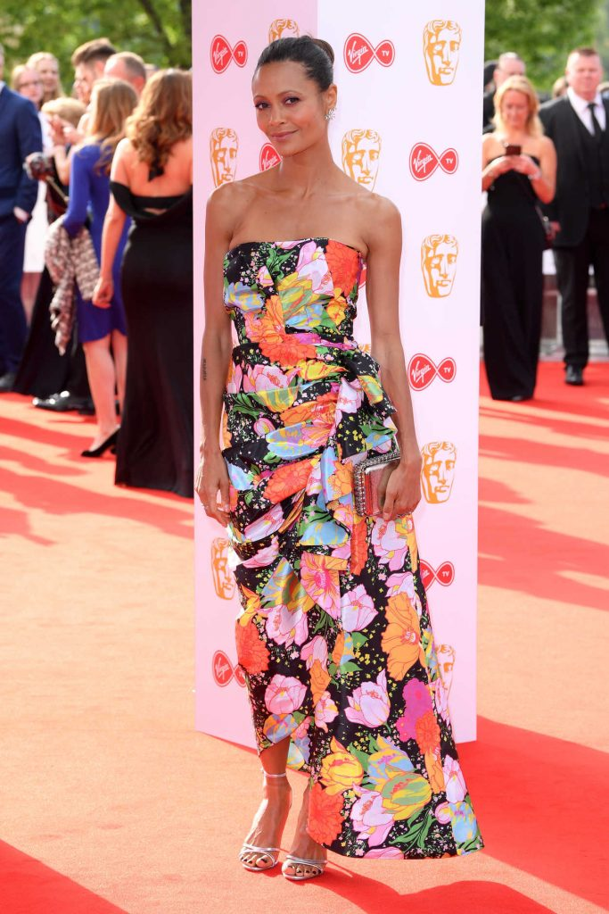 Thandie Newton at British Academy Television Awards at Royal Festival Hall in London 05/13/2018-1