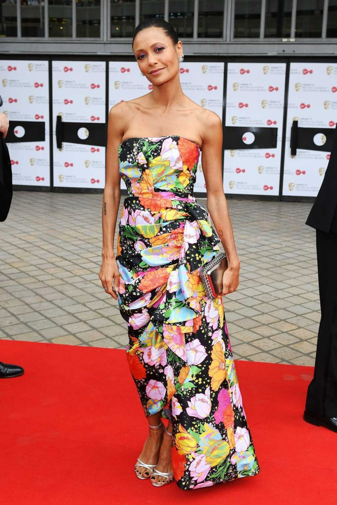 Thandie Newton at British Academy Television Awards at Royal Festival Hall in London 05/13/2018-2