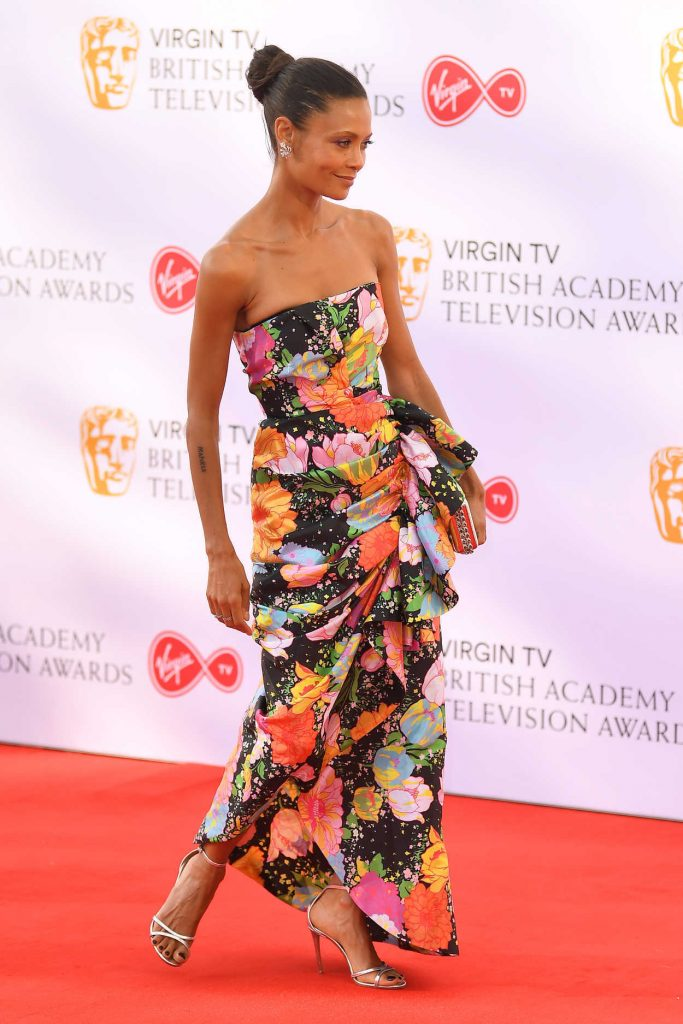 Thandie Newton at British Academy Television Awards at Royal Festival Hall in London 05/13/2018-4