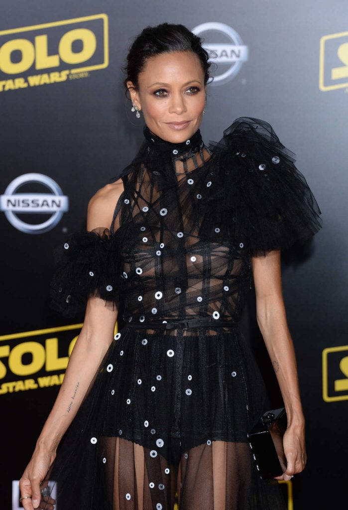 Thandie Newton at the Solo: A Star Wars Story Premiere in Los Angeles 05/10/2018-
