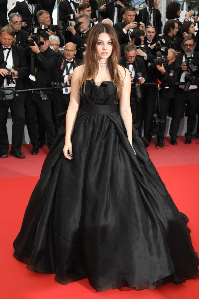 Thylane Blondeau at Sorry Angel Premiere During the 71st Cannes Film Festival in Cannes 05/10/2018-1