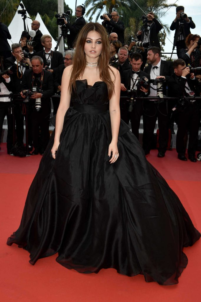 Thylane Blondeau at Sorry Angel Premiere During the 71st Cannes Film Festival in Cannes 05/10/2018-2
