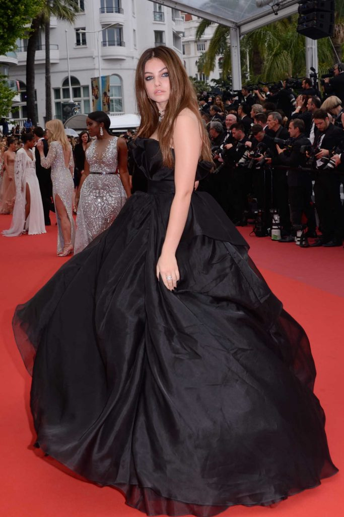 Thylane Blondeau at Sorry Angel Premiere During the 71st Cannes Film Festival in Cannes 05/10/2018-3