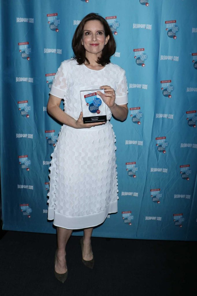 Tina Fey at Broadway.com Audience Choice Awards in New York 05/24/2018-1