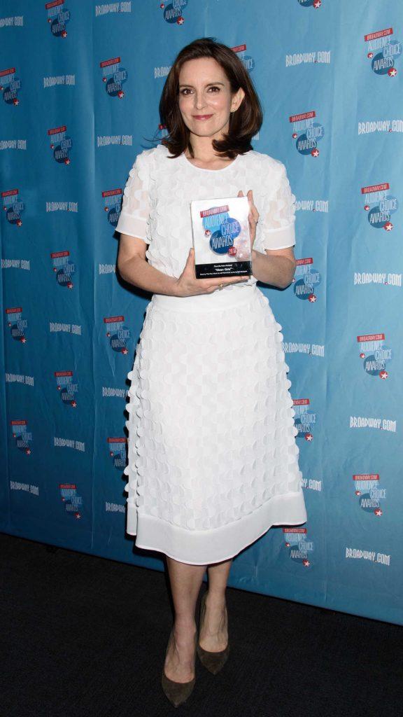 Tina Fey at Broadway.com Audience Choice Awards in New York 05/24/2018-2