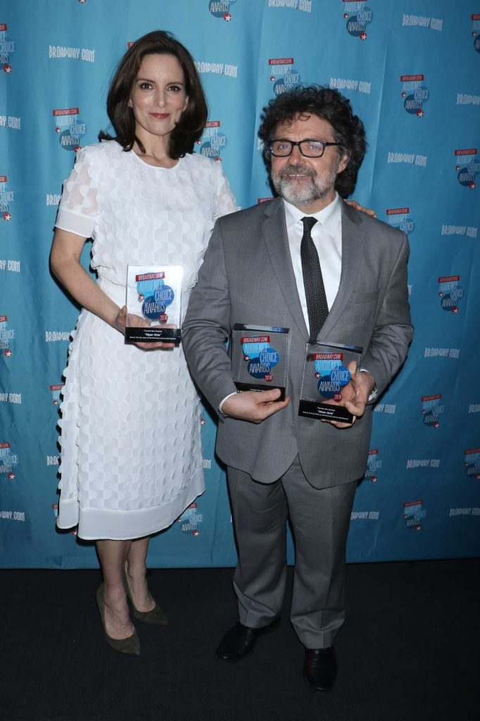 Tina Fey at Broadway.com Audience Choice Awards in New York 05/24/2018-3