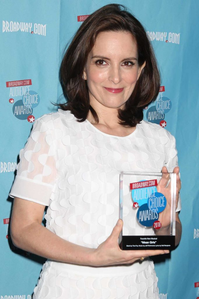 Tina Fey at Broadway.com Audience Choice Awards in New York 05/24/2018-4