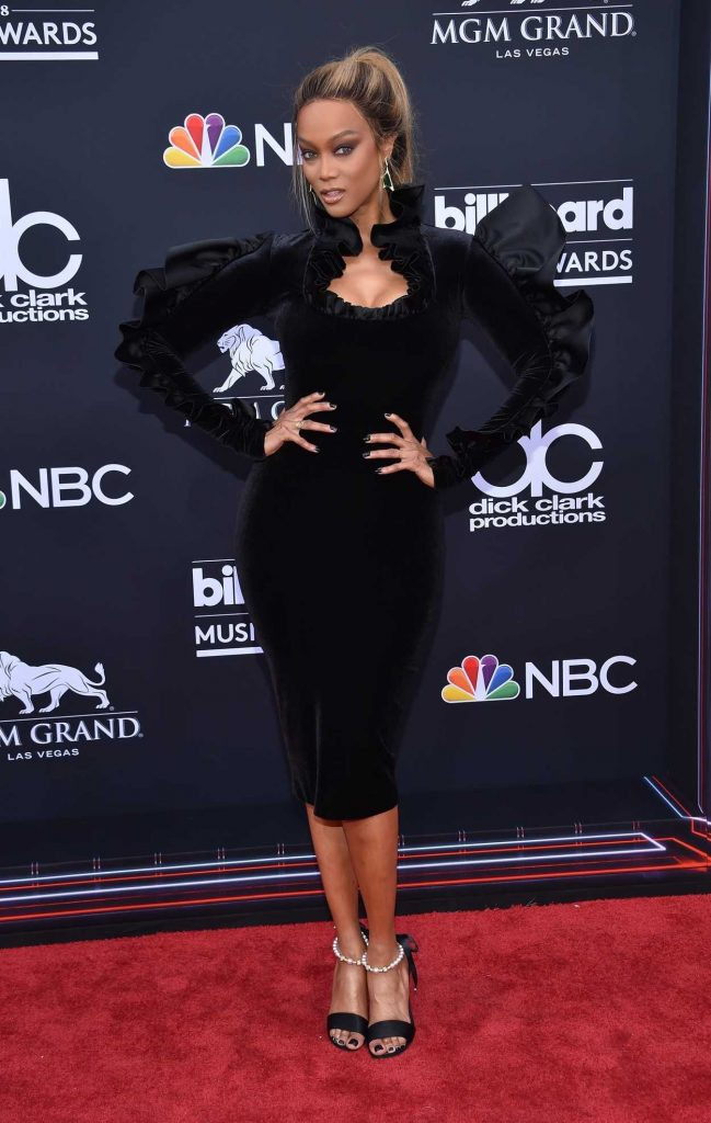 Tyra Banks at Billboard Music Awards in Las Vegas 05/20/2018-1