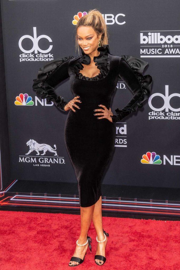 Tyra Banks at Billboard Music Awards in Las Vegas 05/20/2018-2