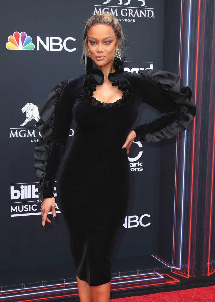 Tyra Banks at Billboard Music Awards in Las Vegas 05/20/2018-4