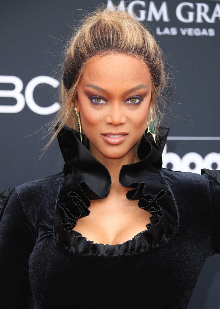Tyra Banks at Billboard Music Awards in Las Vegas 05/20/2018-5