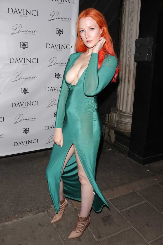 Victoria Clay at the da Vinci London Collection Launch Party in London 05/24/2018-3