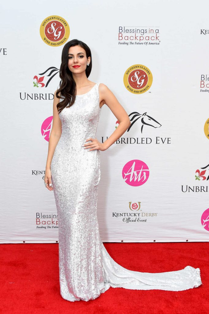 Victoria Justice at Unbridled Eve Gala During the 144th Kentucky Derby in Louisville 05/04/2018-2