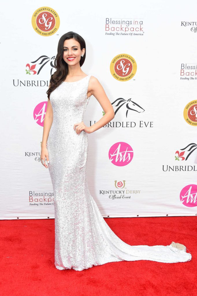Victoria Justice at Unbridled Eve Gala During the 144th Kentucky Derby in Louisville 05/04/2018-3