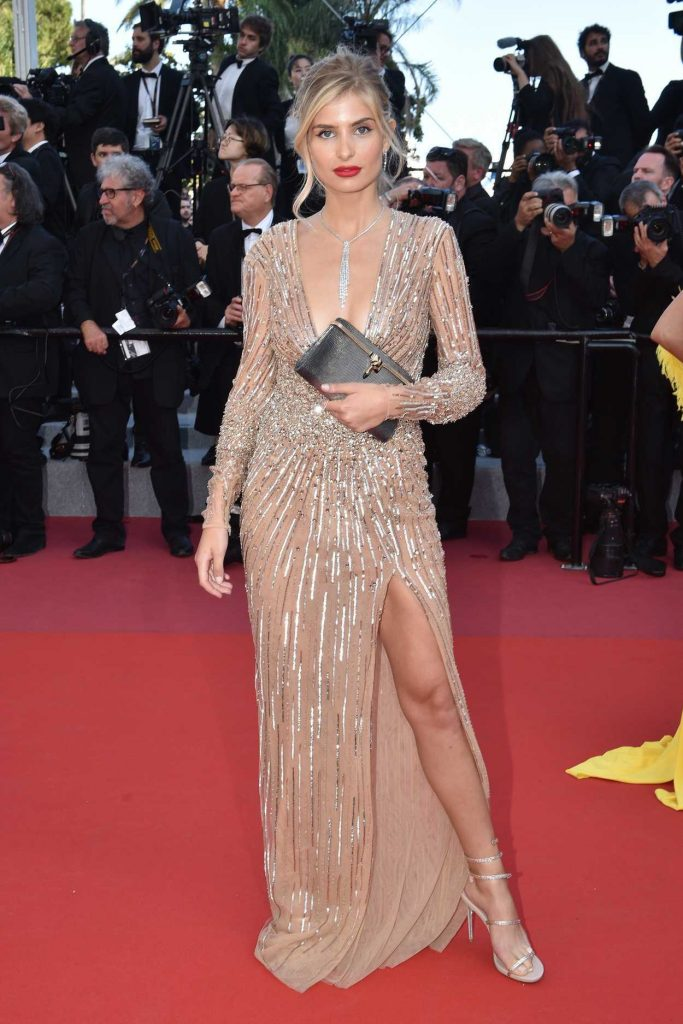Xenia van der Woodsen at the Girls of the Sun Premiere During the 71st Cannes Film Festival in Cannes 05/12/2018-1