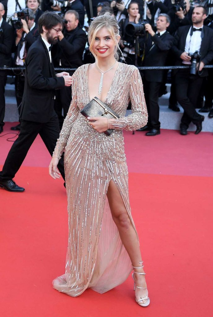 Xenia van der Woodsen at the Girls of the Sun Premiere During the 71st Cannes Film Festival in Cannes 05/12/2018-2