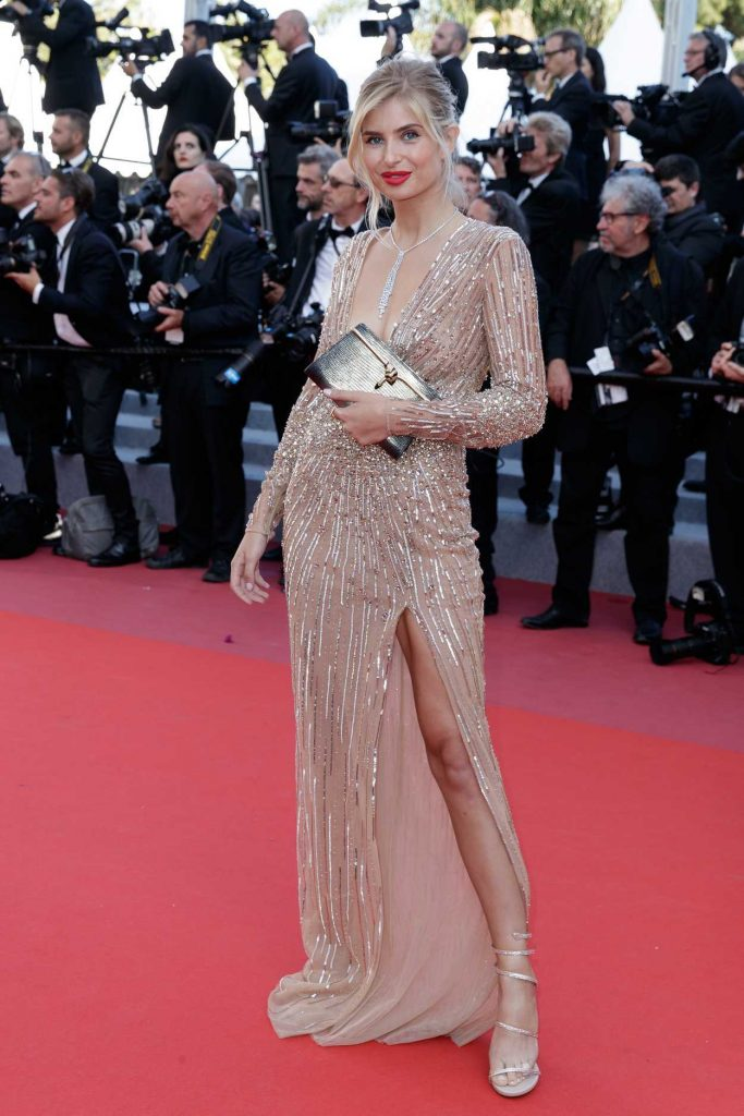 Xenia van der Woodsen at the Girls of the Sun Premiere During the 71st Cannes Film Festival in Cannes 05/12/2018-3