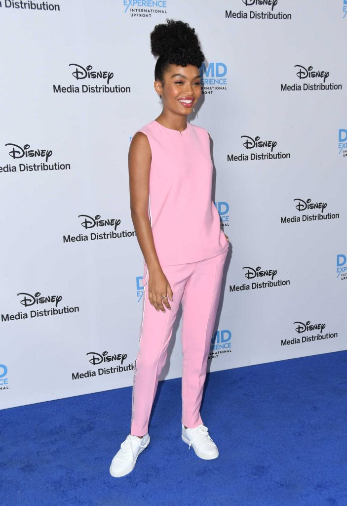 Yara Shahidi at ABC International Upfronts in Burbank 05/20/2018-2