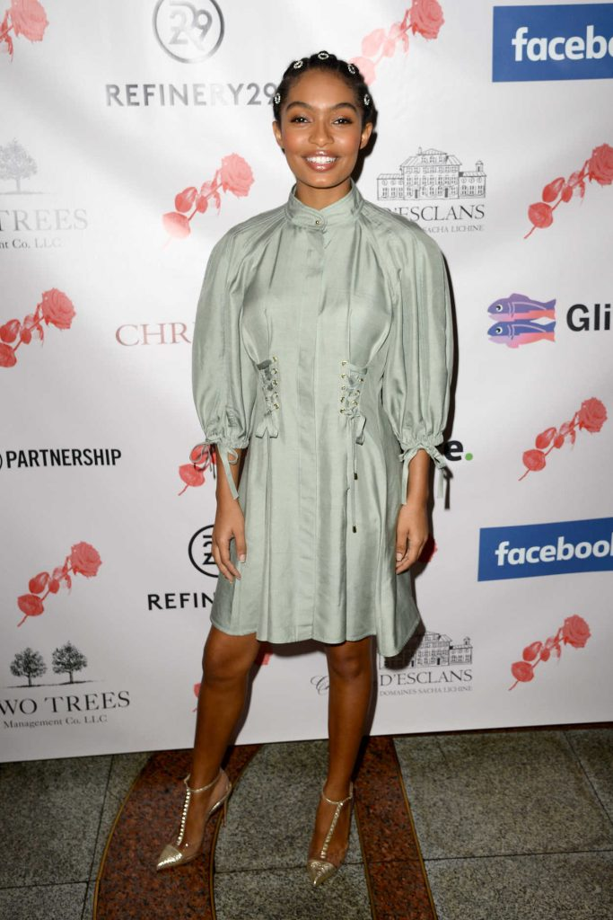 Yara Shahidi at the Lower Eastside Girls Club Spring Fling in New York City 05/16/2018-1