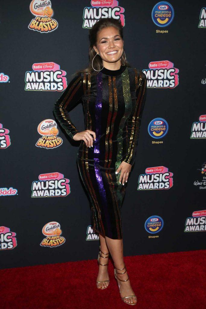 Abby Anderson at 2018 Radio Disney Music Awards in Los ...