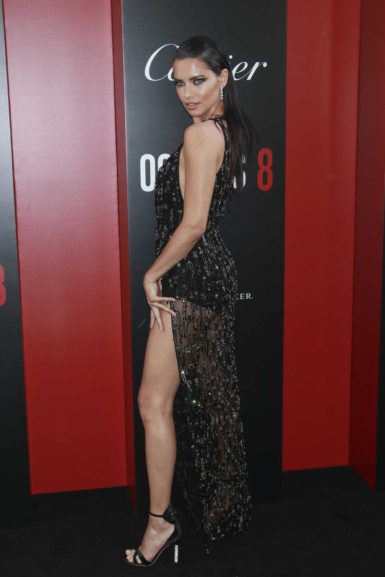Adriana Lima At Ocean S 8 Premiere In New York 06 05 2018