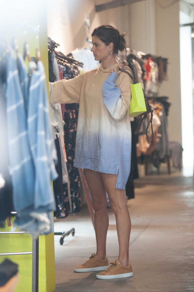 Alessandra Ambrosio Out Shopping in West Hollywood 06/24/2018-1