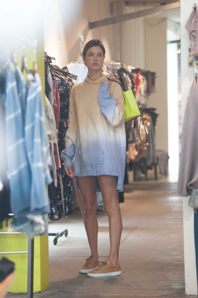 Alessandra Ambrosio Out Shopping in West Hollywood 06/24/2018-2