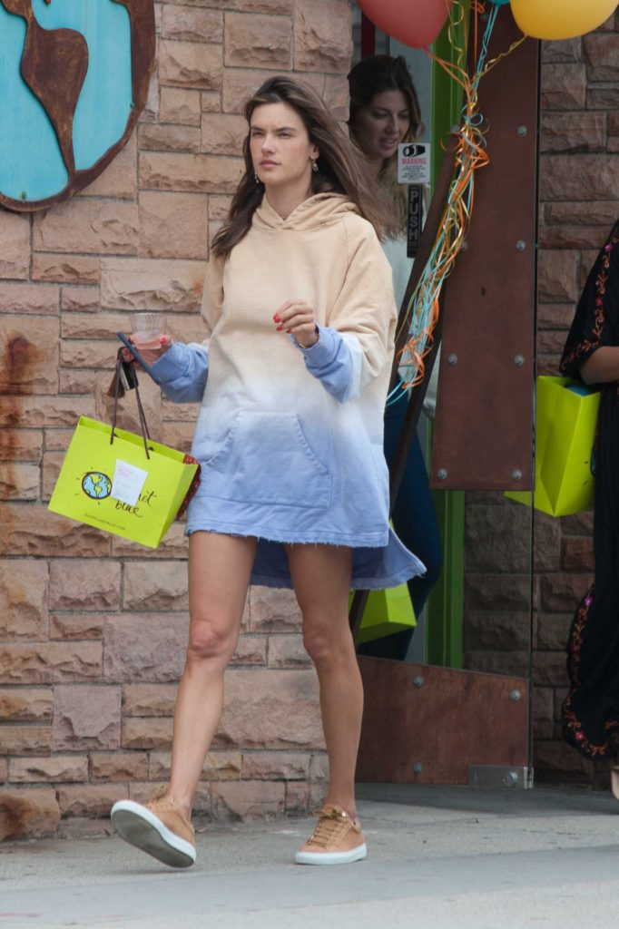 Alessandra Ambrosio Out Shopping in West Hollywood 06/24/2018-3