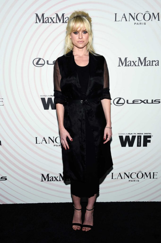 Alice Eve at 2018 Women in Film Crystal and Lucy Awards in Los Angeles 06/11/2018-2