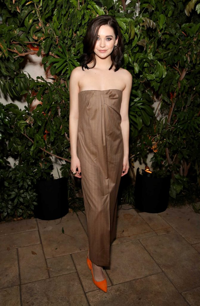 Amanda Steele at 2018 MaxMara WIF Face of the Future in Los Angeles 06/12/2018-1