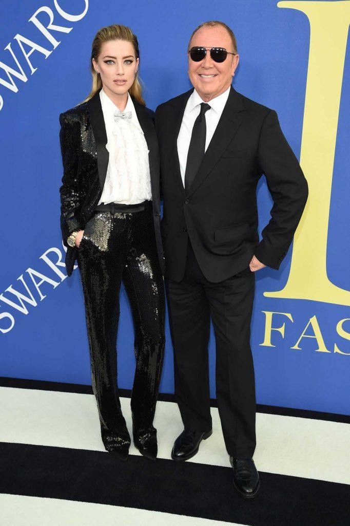 Amber Heard at 2018 CFDA Fashion Awards at Brooklyn Museum in New York City 06/04/2018-4