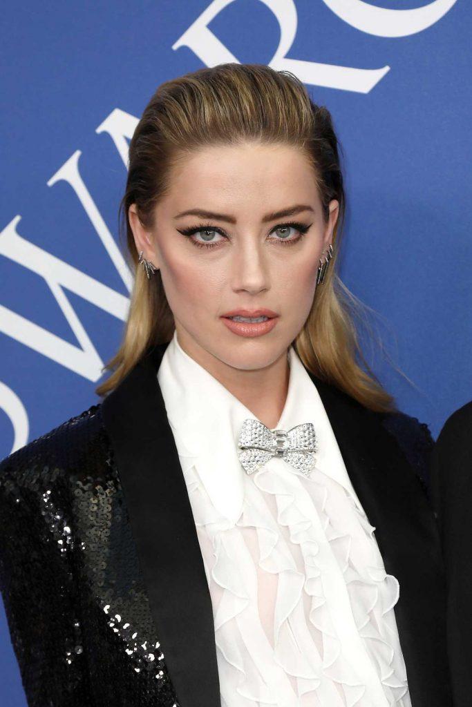 Amber Heard at 2018 CFDA Fashion Awards at Brooklyn Museum in New York City 06/04/2018-5