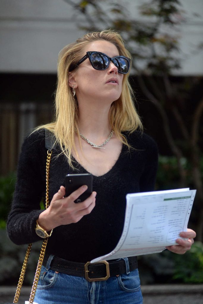 Amber Heard Leaves a Clinic in New York 06/06/2018-5