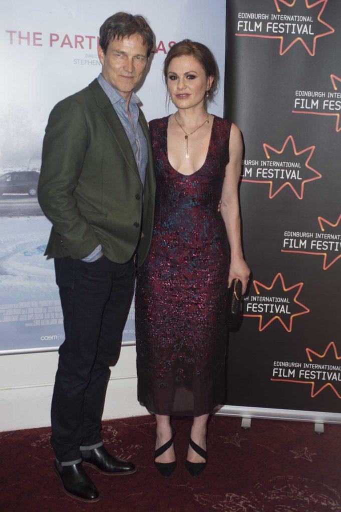 Anna Paquin Arrives at The Parting Glass Premiere During the 72nd Edinburgh International Film Festival in Edinburgh 06/24/2018-4