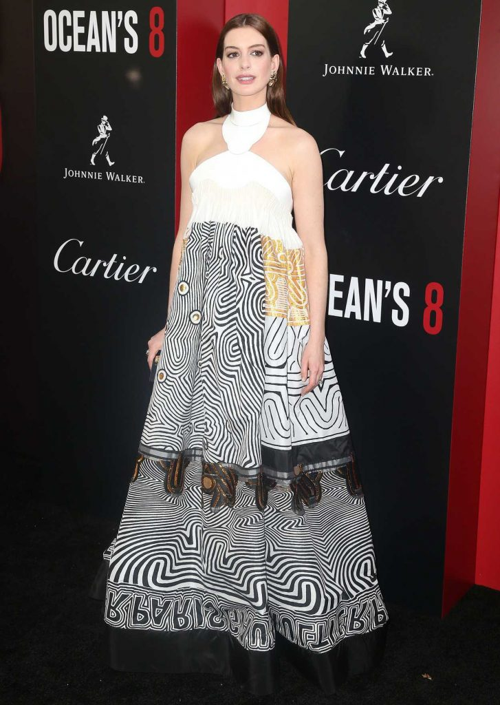 Anne Hathaway at Ocean's 8 Premiere in New York 06/05/2018-1