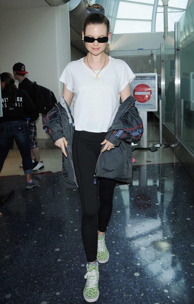 Behati Prinsloo Arrives at LAX Airport in LA 06/04/2018-1