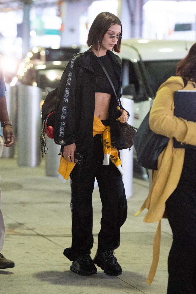Bella Hadid Leaves JFK Airport in New York 06/24/2018-3