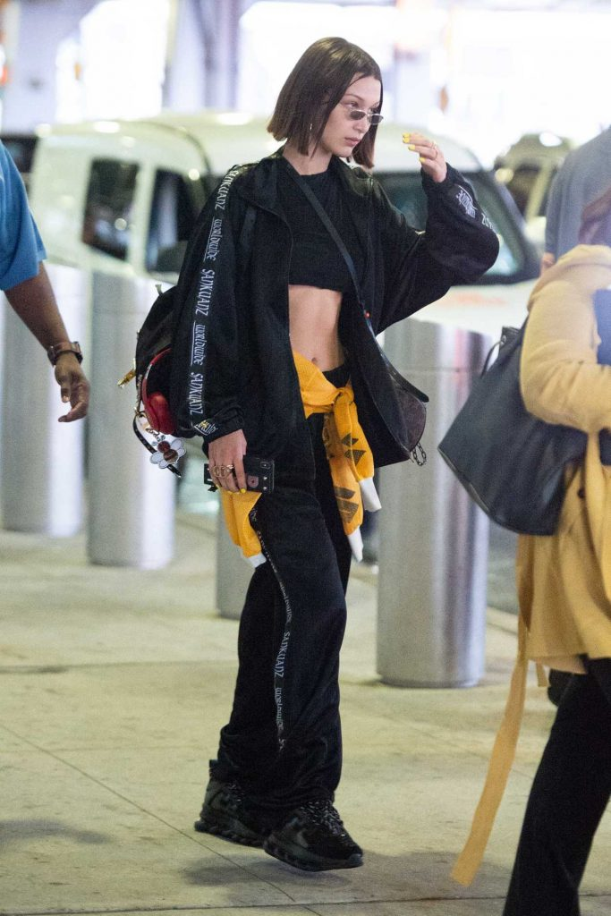 Bella Hadid Leaves JFK Airport in New York 06/24/2018-4