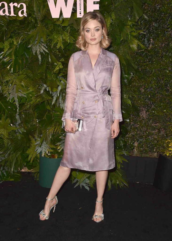 Bella Heathcote at 2018 MaxMara WIF Face of the Future in Los Angeles 06/12/2018-1