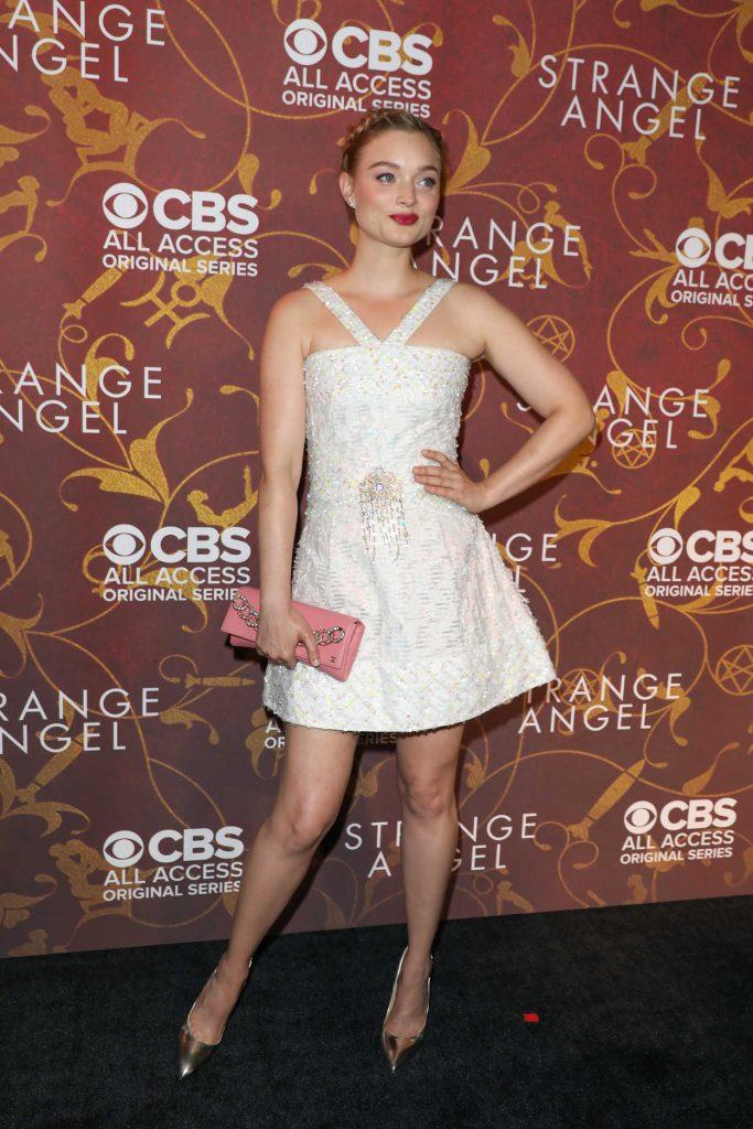 Bella Heathcote at the Strange Angel TV Show Premiere in Los Angeles 06/04/2018-2