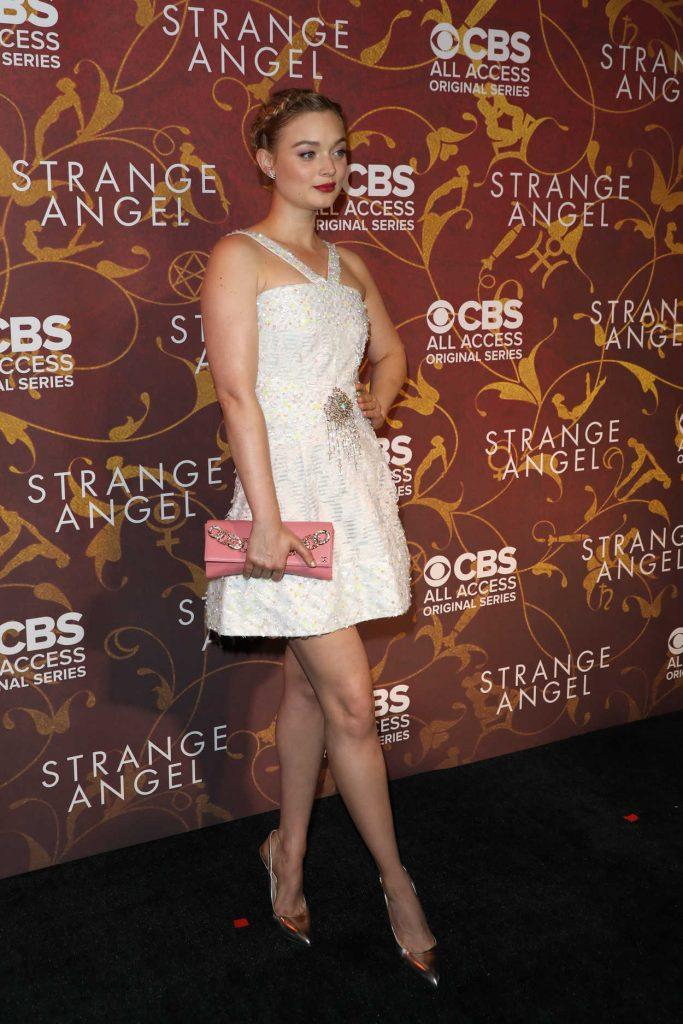 Bella Heathcote at the Strange Angel TV Show Premiere in Los Angeles 06/04/2018-3