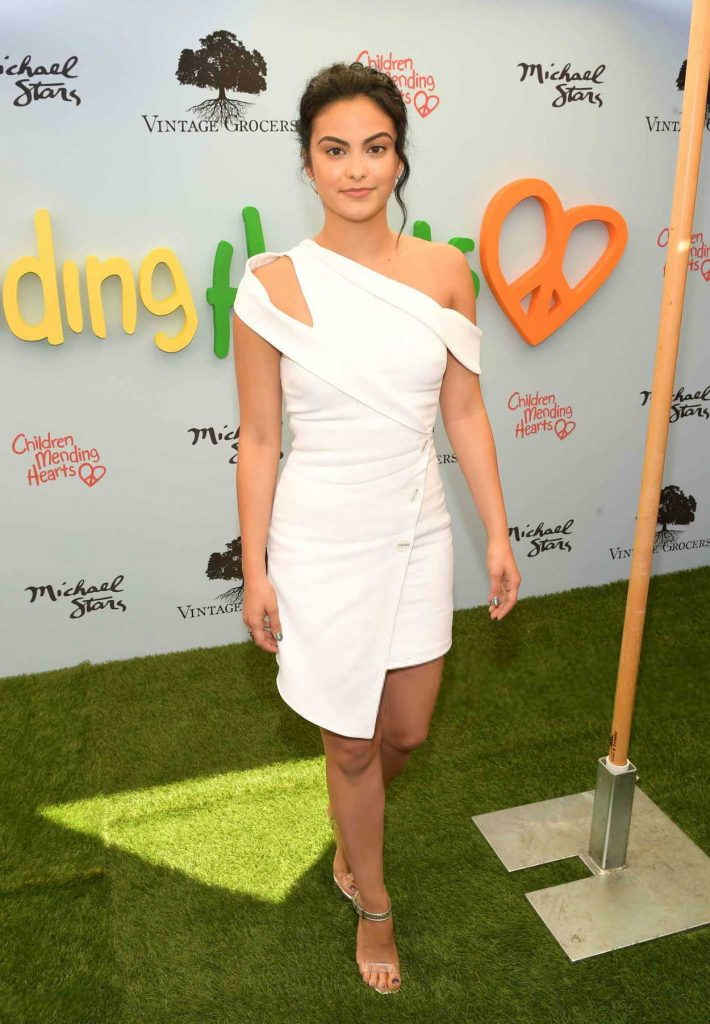 Camila Mendes at the Children Mending Hearts Gala in Los Angeles 06/10/2018-2