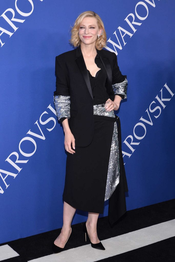Cate Blanchett at 2018 CFDA Fashion Awards at Brooklyn Museum in New York City 06/04/2018-1