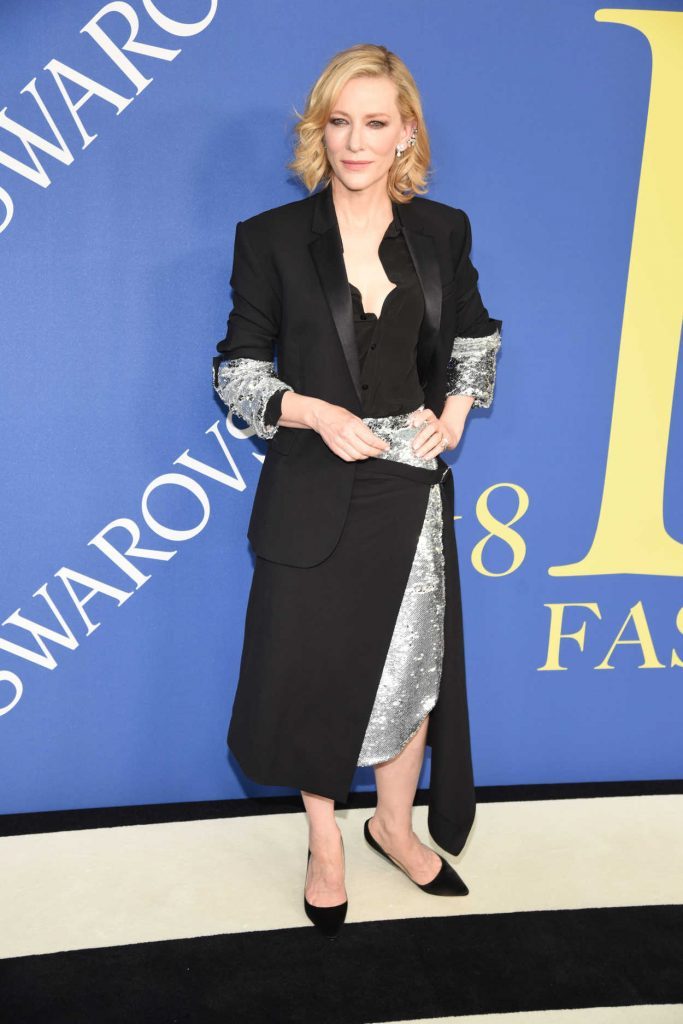 Cate Blanchett at 2018 CFDA Fashion Awards at Brooklyn Museum in New York City 06/04/2018-2