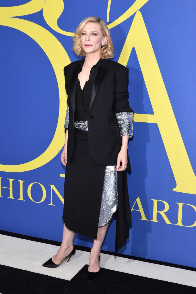 Cate Blanchett at 2018 CFDA Fashion Awards at Brooklyn Museum in New York City 06/04/2018-3