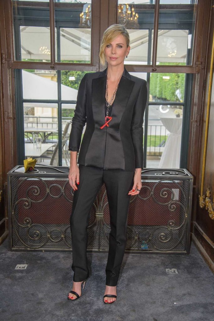 Charlize Theron at 2018 Crystal of Hope Outreach Project in Vienna 05/31/2018-1