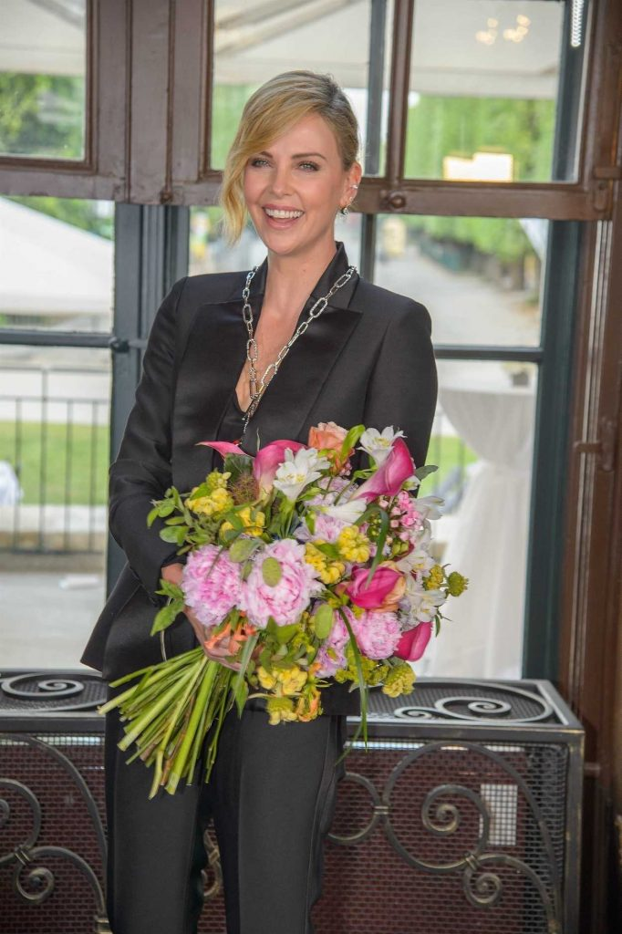 Charlize Theron at 2018 Crystal of Hope Outreach Project in Vienna 05/31/2018-3