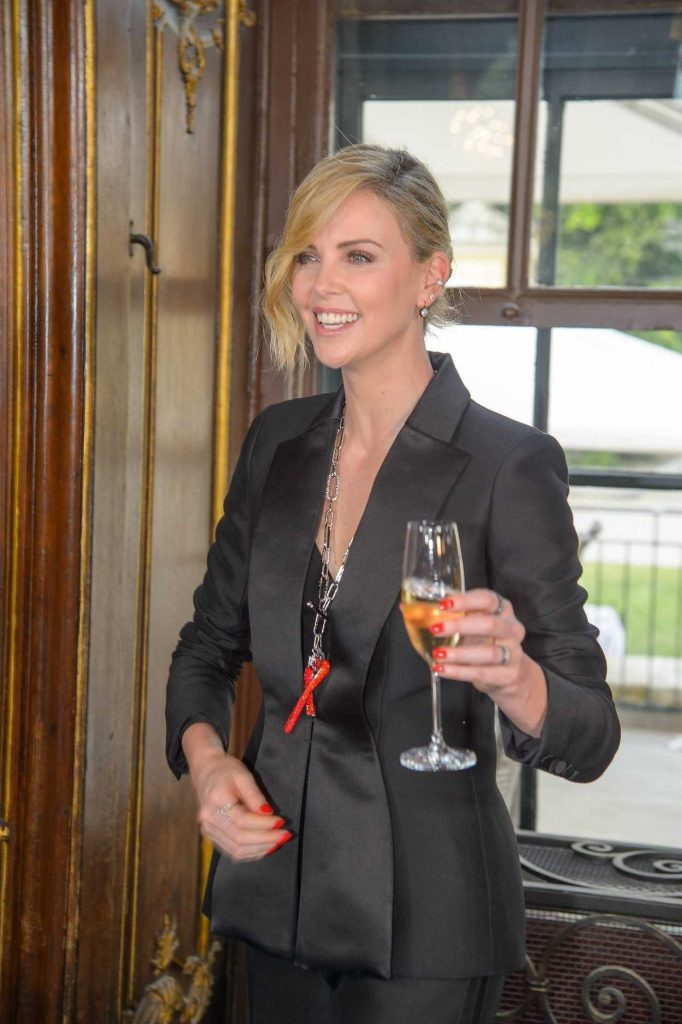 Charlize Theron at 2018 Crystal of Hope Outreach Project in Vienna 05/31/2018-4
